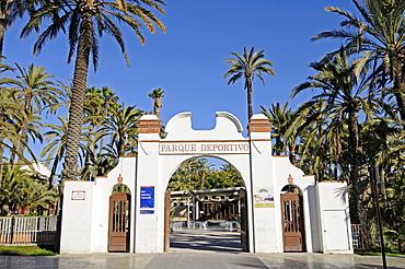 Sports center, Elche, Elx, Alicante, Costa Blanca, Spain