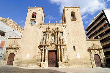 Santa Maria Basilica, Alicante, Costa Blanca, Spain, Europe