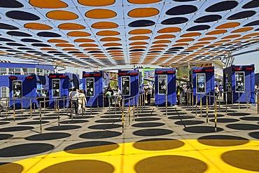 Entrance Area, Expo 2008, World Fair, Zaragoza, Aragon, Spain, Europe