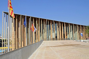 Spanish Pavilion, Expo 2008, World Fair, Zaragoza, Aragon, Spain, Europe