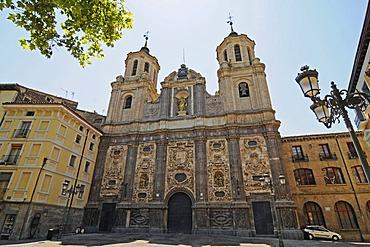 Santa Isabel, church, Plaza del Justicia Square, Zaragoza, Saragossa, Aragon, Spain, Europe