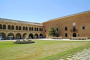 Monasterio de Rueda, Monastery, Hotel, Sastago, Ebro Valley, Aragon, Spain, Europe