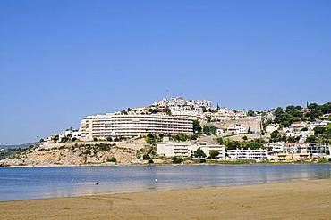 Houses, Peniscola, Costa del Azahar, Orange Blossom Coast, Castellon, Valencia, Spain, Europe