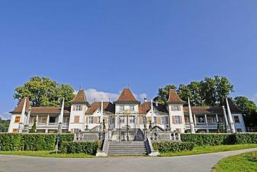 Waldegg Castle, summer residence of Johann Viktor of Besenval, museum, cultural monument, Feldbrunnen, Solothurn, Switzerland, Europe