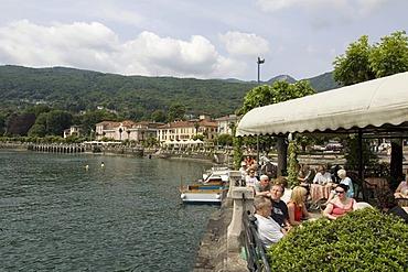 Baveno at the Lake Lago Maggiore Piedmont Piemonte Italy