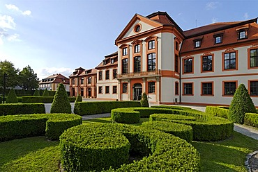 Eichstaett in the Altmuehl valley Upper Bavaria Germany former summer resicence of the prince-bishop built 1735 to 1737 by Gabriel Gabrieli now university