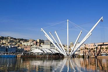Genoa Genova Liguria Italy harbor Bigo