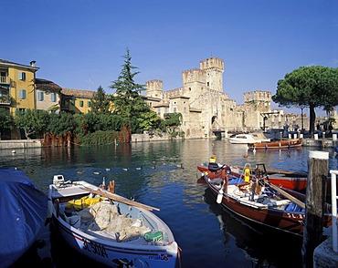 Sirmione Lake Garda Lago di Garda Lombardia Italy Italia