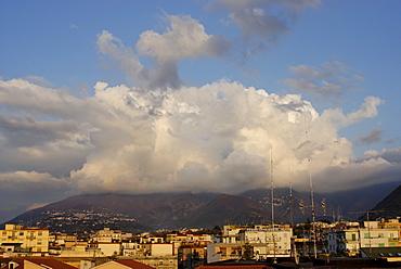 From Castellammare di Stabia to the Mount Vesuvius Monte Vesuvio Campania Italy Italia