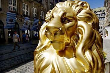 Munich Bavaria Germany Lionparade