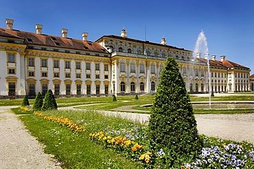 Castle Schleissheim Schleissheim east storefront facade Bavaria Germany