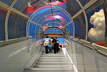 Gangway to LTU Airbus