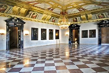 Black Hall, Residenz, Munich, Bavaria, Germany