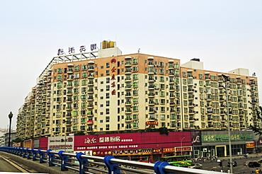 Block of flats, Chengdu, China, Asia