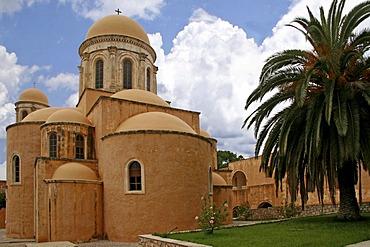 Monastery, Moni Agias Triadas, Crete, Greece