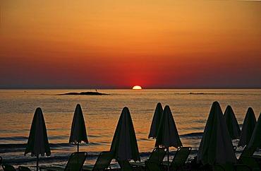 Sunrise, Stalis, Crete, Greece