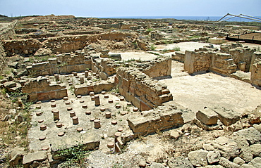 Archaeology, House of Theseus, Paphos, Cyprus