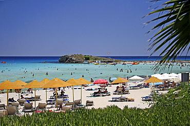 Beach, Agia Napa, Cyprus