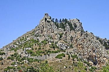 Crusader castle St Hilarion, Northern Cyprus