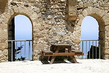 St. Hilarion Crusader Castle, North Cyprus, Europe