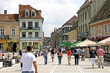 Historic centre of Brasov, Transylvania, Romania, Europe