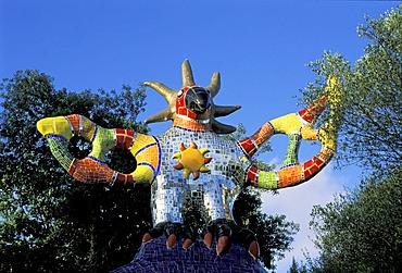 The Tarot Garden of Niki de Saint-Phalle Capalbio Provincia de Grossetto Tuscany Italy