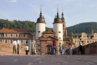 14.07.2005, Heidelberg, DEU, Alten bridge