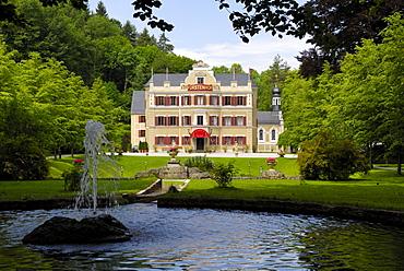 Fuerstenhof, filming location for the German TV series Sturm der Liebe, Vegan, Bavaria, Germany
