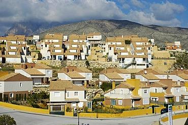 New residential area in Benidorm, Costa Blanca, Spain