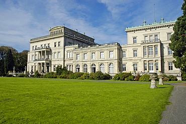 Former residence of the industrial family krupp, Villa Huegel, Essen, Ruhrgebiet, North Rhine-Westphalia, Germany