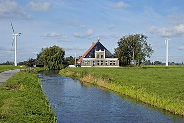 Country house, Frisia, Netherlands