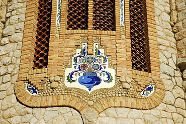 Sanctuary of Mary Magdalene by Jose Sala Sala, Novelda, Alicante, Costa Blanca, Spain