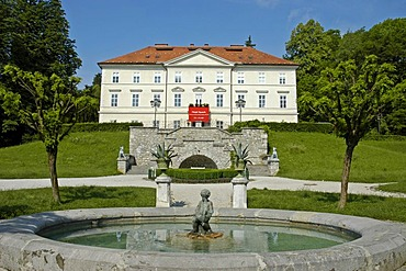 Tivoli castle, international graphic art centre, Ljubljana, Slovenia