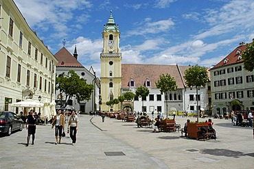 Old Town Hall, main square, Bratislava, Slovakia