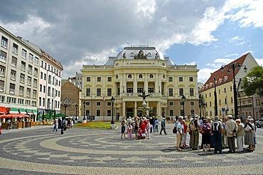 Old Slovak National Theatre building, Hviezdoslav Square, Bratislava, Slovakia