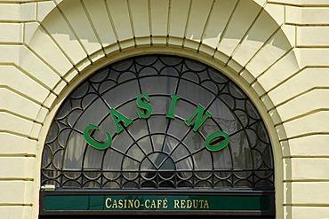 Casino Reduta, detail, Bratislava, Slovakia