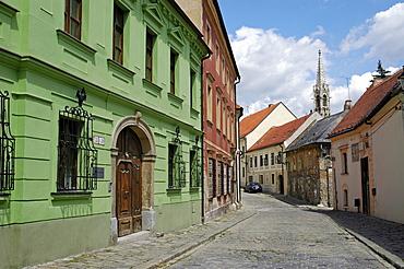 Historic old part of town, Bratislava, Slovakia
