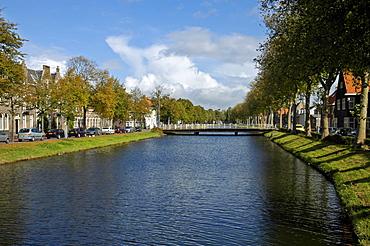 Canal, Middelburg Zeeland Holland the Netherlands