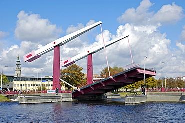 Schroebrug movable bridge Middelburg Zeeland Holland the Netherlands