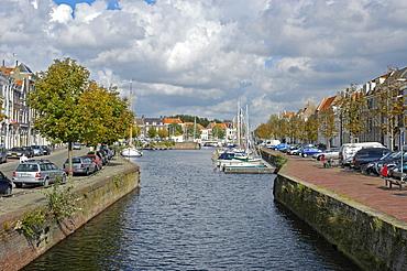Canal, Middelburg, Zeeland, Holland, the Netherlands