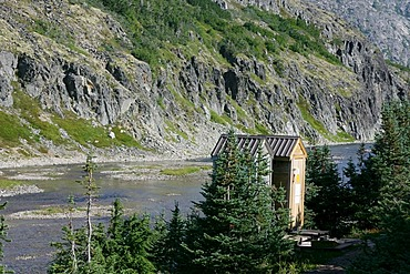 Restroom at the Happy Camp Chilkoot Trail British Columbia Canada