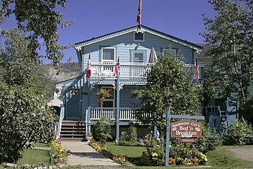 A cosy Bed and Breakfast in Dawson Yukon Territory Canada