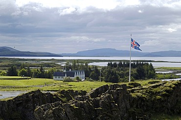 Church of Thingvellir Iceland
