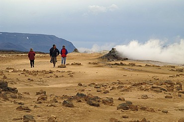 Solfatara at the mountain Namafjall Iceland