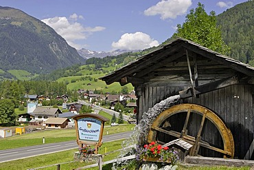 Old water mill in Putschall near Grossglockner Carinthia Austria