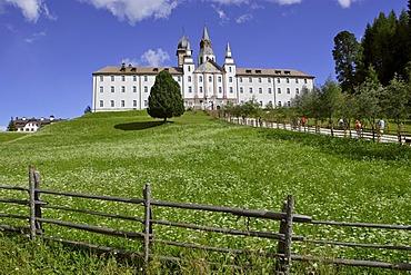 Monastery of Maria Weissenstein, Petersberg, South Tyrol Italy