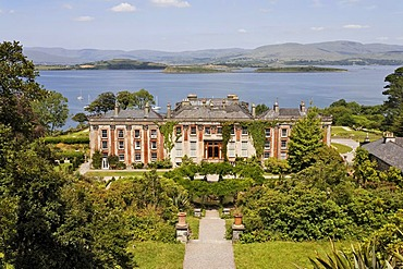 Palace and the gardens of Bantry House, Cork, Ireland
