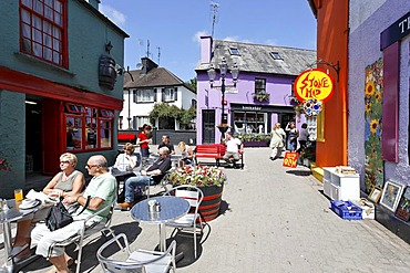 Colourful pubs and houses, Kinsale, Cork, Ireland