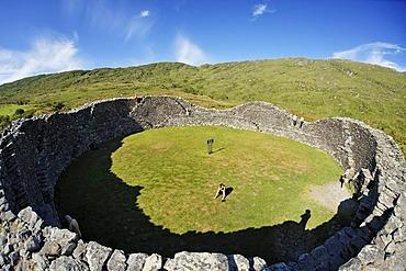 Staigue stone fortification, Iveragh peninsula, Ireland