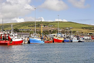 Fishing boats, Dingle, Kerry, Ireland